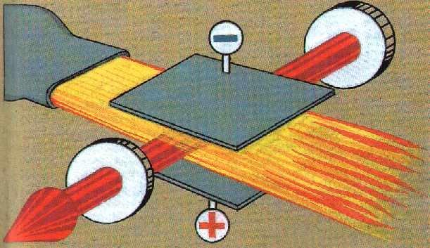 На фото – газодинамический лазер