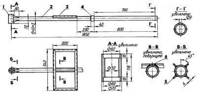 Схема изготовления рамы конструкции