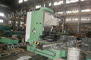 65У40 фрезерный специальный станок для обработки корпуса автосцепки