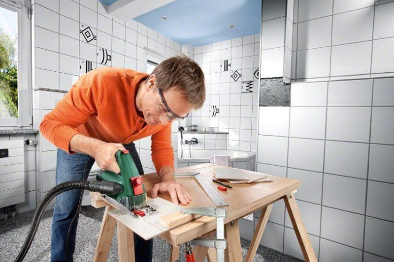 Ручная циркулярная мини-пила Bosch PKS 16 Multi — легкий и компактный инструмент