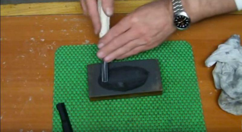Шлифовка ножа - заключительный этап