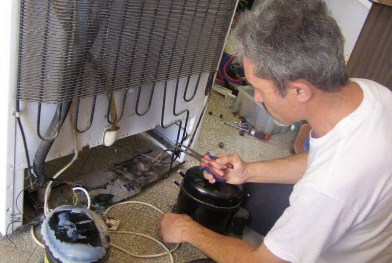 Мотор от холодильника для компрессора под покраску авто