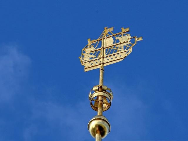 Флюгер на шпиле Адмиралтейства