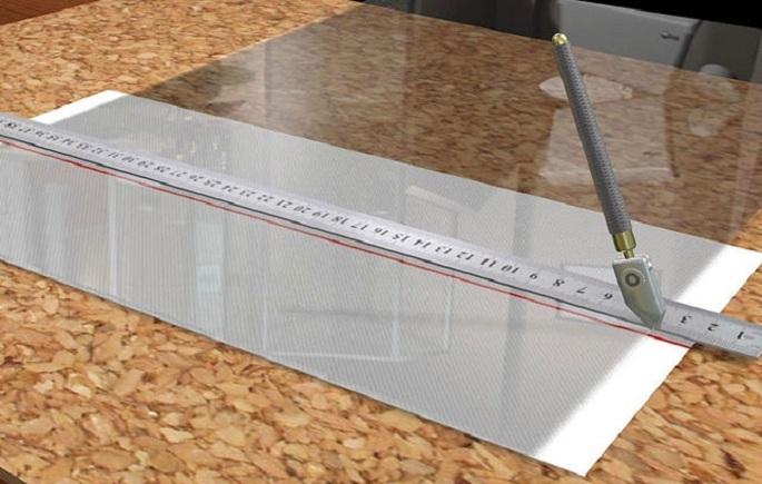 Как отрезать стекло в домашних условиях