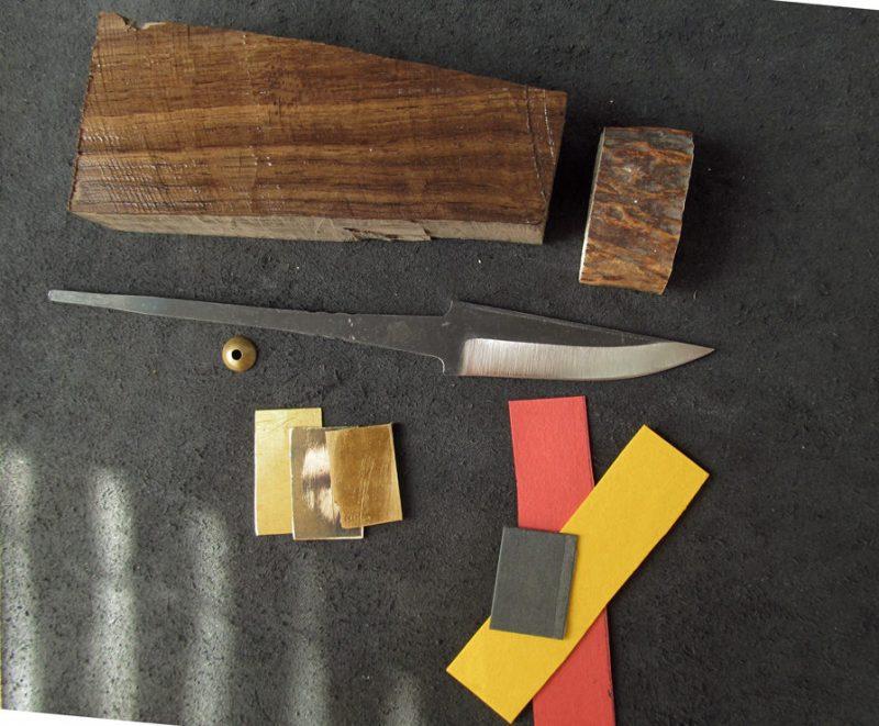 Материалы для изготовления ножа скандинавского типа
