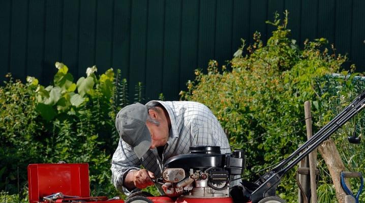 Особенности ремонта газонокосилок своими руками
