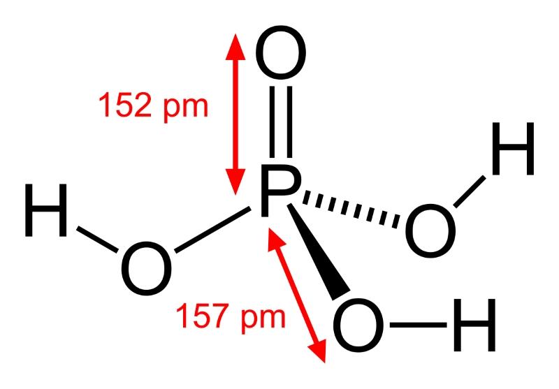 Формула ортофосфорной кислоты