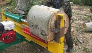 Как пользоваться дровоколом