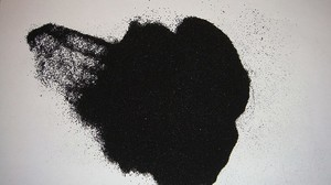 Резиновая пыль после переработки покрышек
