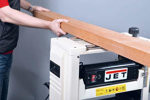 Использование верхних роликов рейсмуса JWP-12 для переноса заготовки