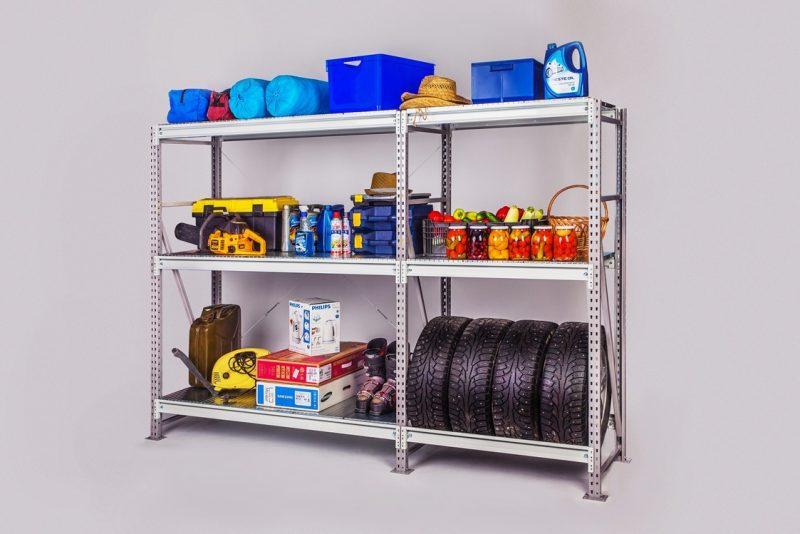 Стеллаж — универсальное средство хранения для гаража