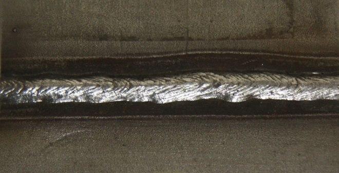 Сварка этих листов из коррозионностойкой нержавеющей сталей была выполнена электродом ЦТ-15