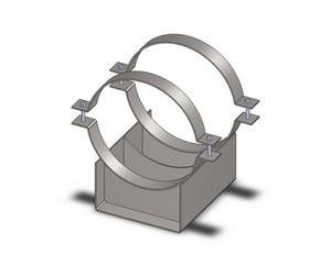 Конструкция опор для трубопровода