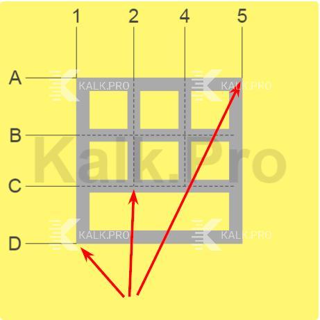 Пояснения к упрощенной схеме фундамента