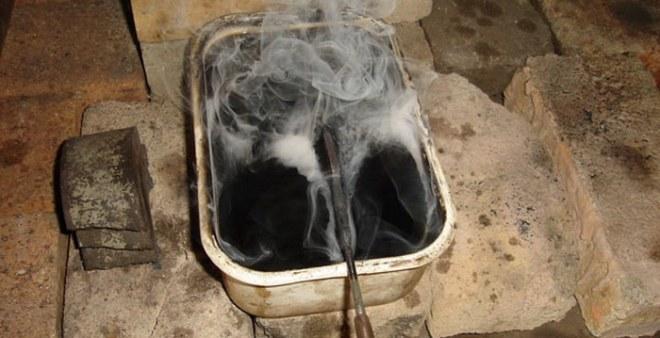 Охлаждение в масляной ванне
