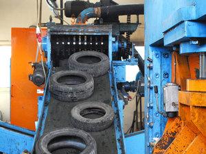 Завод по переработки автомобильных покрышек и шин