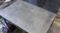Как ровно согнуть стальной лист без листогиба