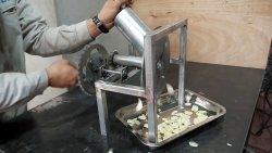 Самодельная ломтерезка быстрой для рубки овощей кольцами