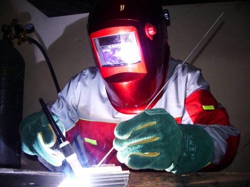 работа с металлом защитный костюм