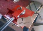 Покрашенный готовый роликовый трубогиб