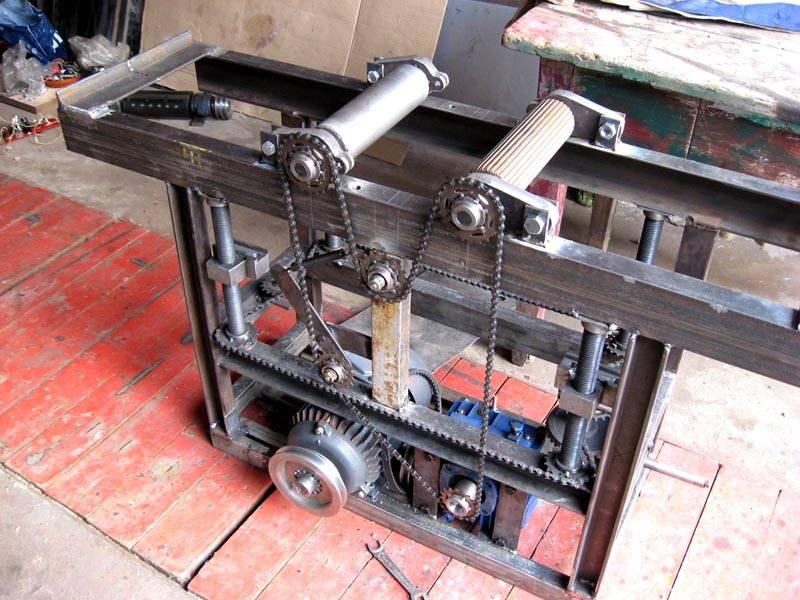 Вариант готового самодельного оборудования для мастерской
