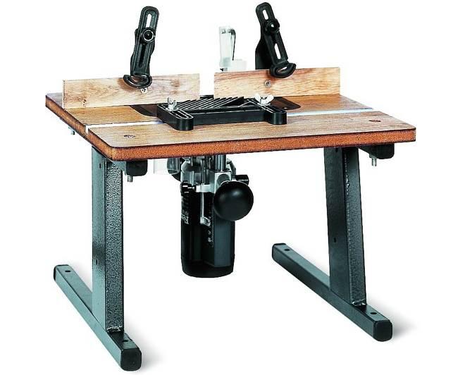 PROMA ценой около 6 тысяч рублей - один из самых дешевых заводских фрезерных столиков