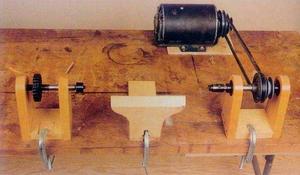 Токарный станок по дереву своими руками: самодельный мини