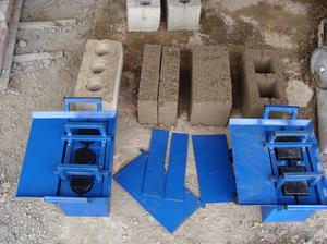 Как изготовить строительный  блок