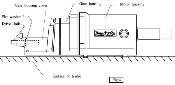 Установка моторного модуля рейсмуса Макита 2012