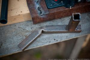 Станок для загиба металла в домашней мастерской