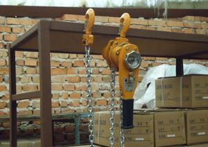 Таль рычажная ручная - как своими руками поднять аж 3 тонны