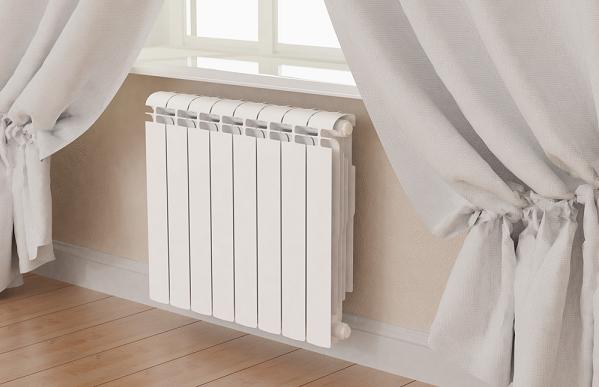 радиатор отопления и алюминия